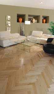 Maple Herringbone - Room